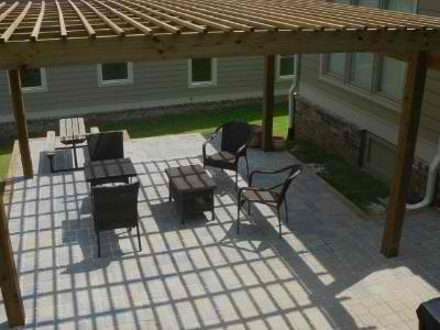 Paver patio in Macon, GA