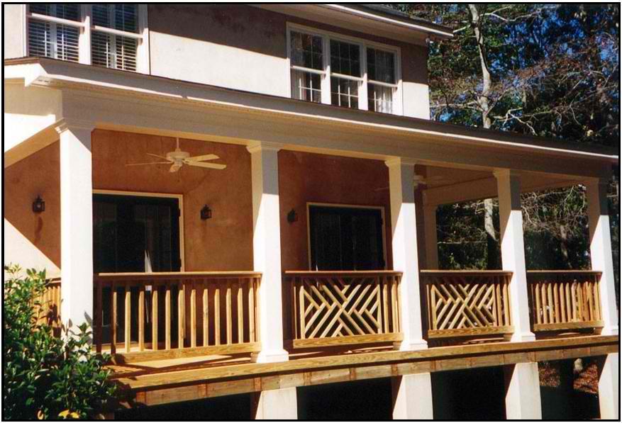 Covered Porch In Macon Ga