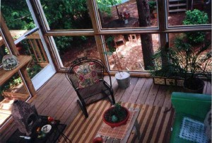 Screen porch in Macon GA