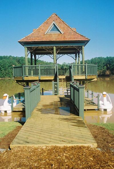 Waterside porch