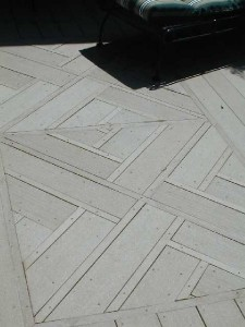 Chippendale patterned deck in Midgeville, GA