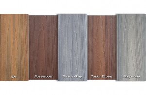 Fiberon Horizon color choices
