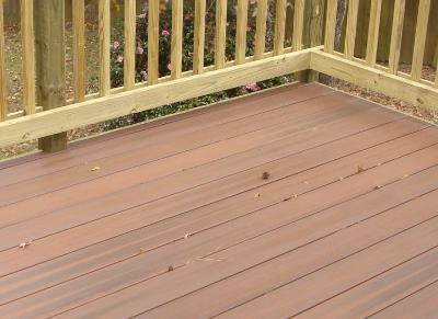 Fiberon Horizon deck in Macon GA