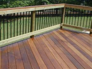 Forsyth GA Ipe deck