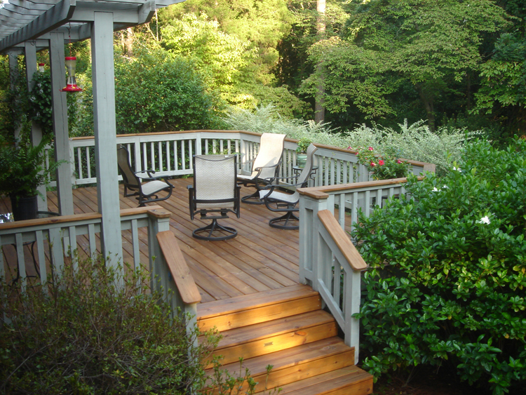 ipe deck - macon GA by Archadeck
