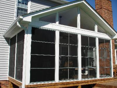 Vinyl Window For Porches Archadeck Of Central Ga