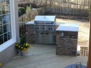 North Macon outdoor kitchens