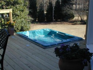 North Macon spa decks