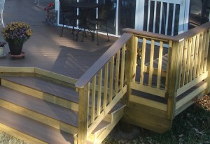 TimberTech deck Hawkinsville GA Archadeck