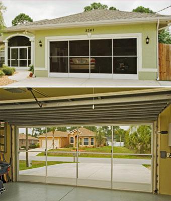 Eze-Breeze garage screens
