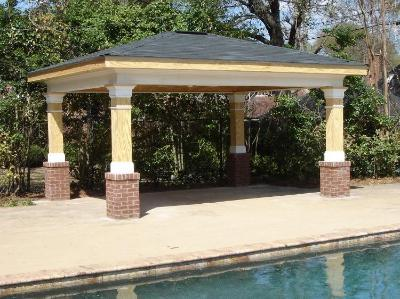 Pavilion Next to Pool in Macon GA