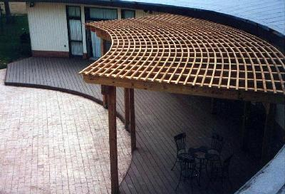 Fan pergola in  Jones County Macon GA