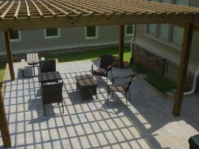 Paver patio in Macon GA