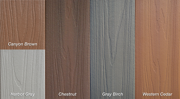 Pro Tect color swatches