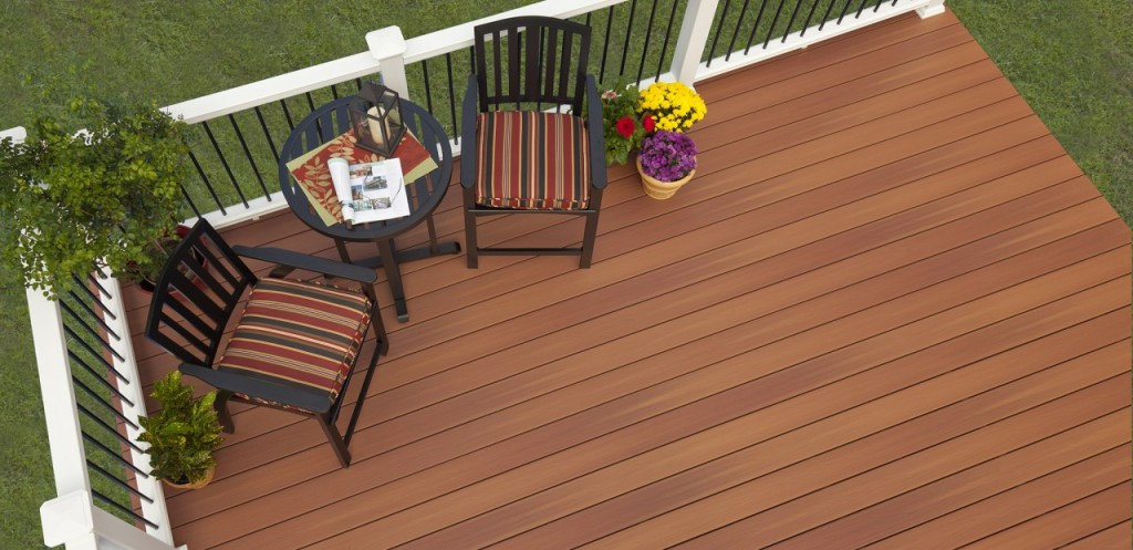 Synthetic decks archadeck of central ga for Fiberon ipe decking prices