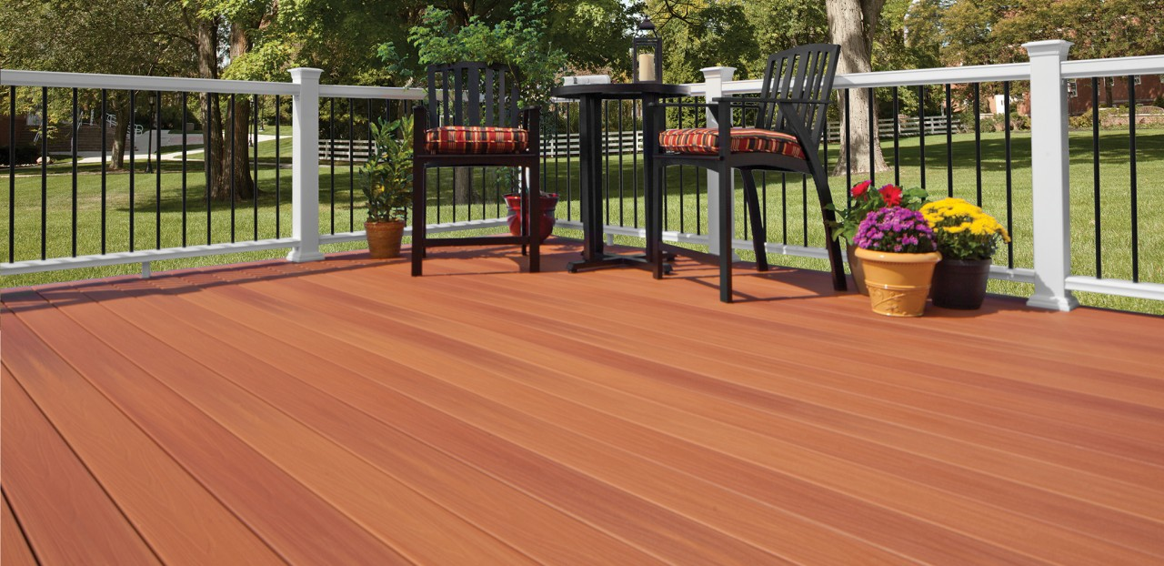 Western cedar pro tect decking by fiberon archadeck of for Fiberon ipe decking prices