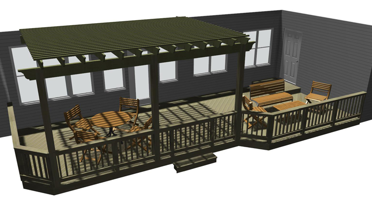 design for new deck pergola Macon GA