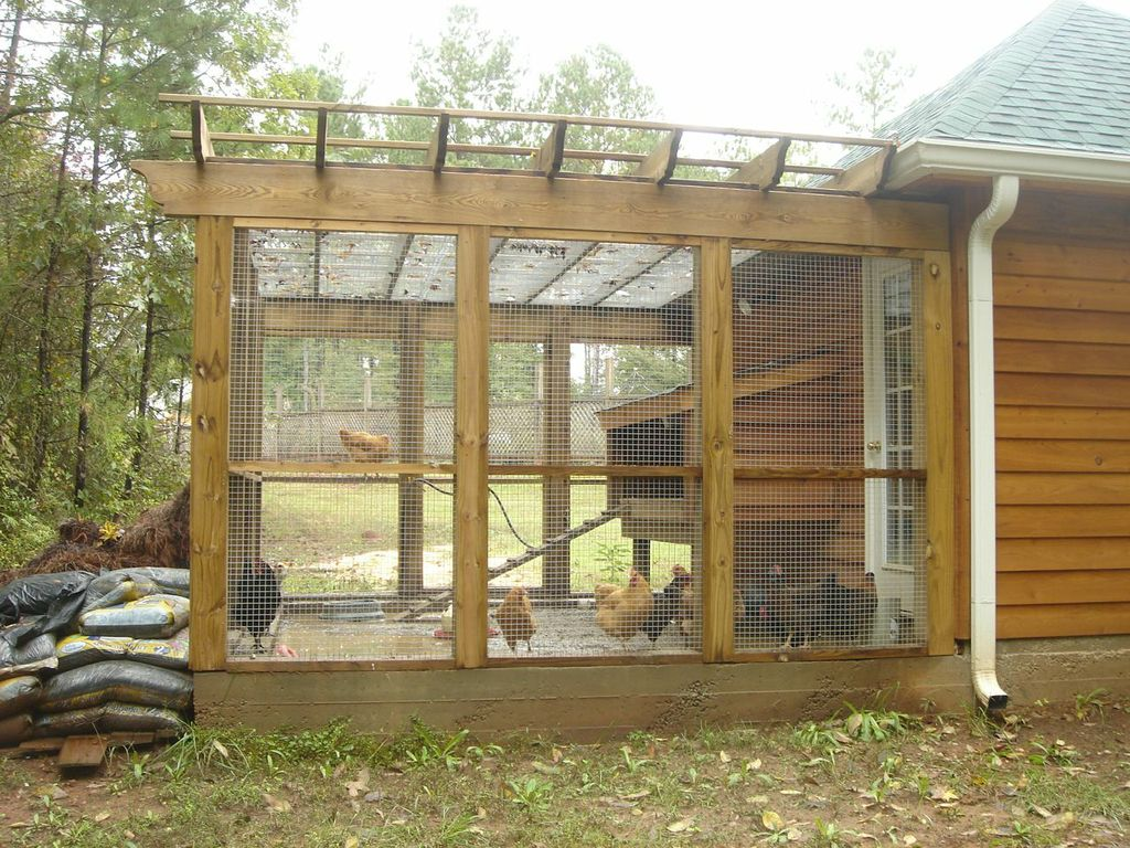 Central GA custom chicken coop as part of phased bldg. program