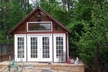 Central GA freestanding 3 season room project