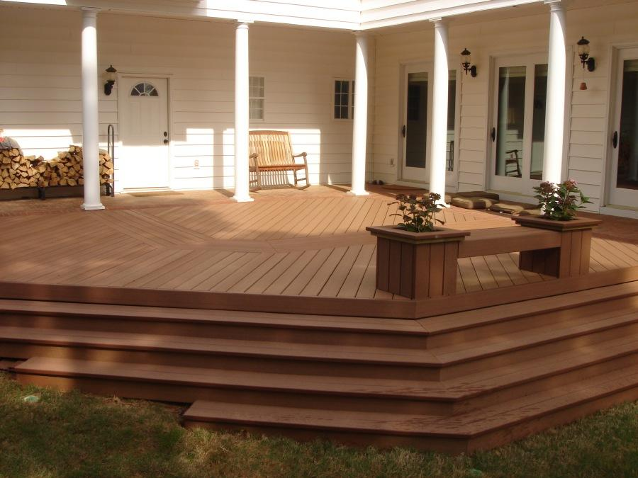 Composite deck in Warner Robins