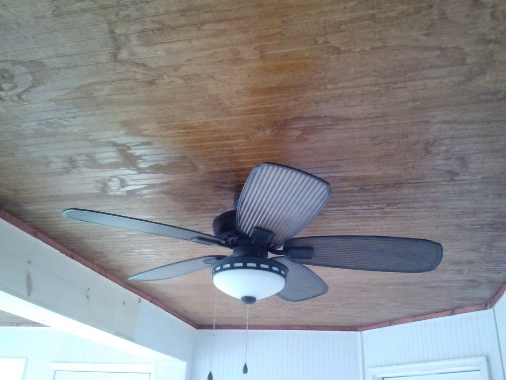 Warner Robins sunroom interior ceiling details