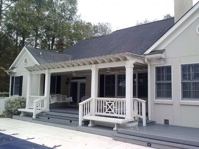 Perry GA low maintenance deck builder