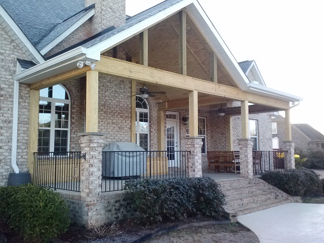 Open porch builders in warner robins ga archadeck of Open porches