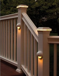 Fiberon-Fort Valley-GA railing-lighting