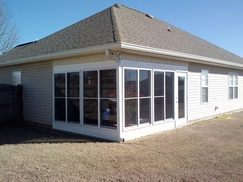 Warner Robins GA aluminum sunroom