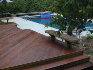 Ipe pool deck Warner Robins GA