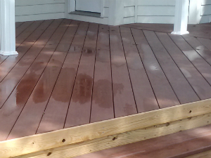 AZEK deck South Macon GA lr
