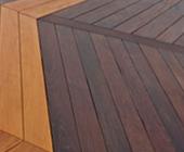 Ipe and garapa Brazilian hardwood deck Macon