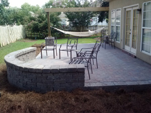 Paver patio-Macon-Hammock lr