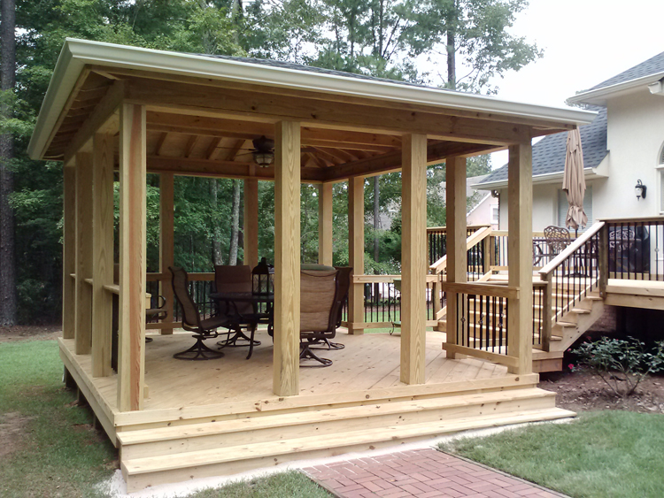 Which Is Better An Attached Open Porch Or Free Standing