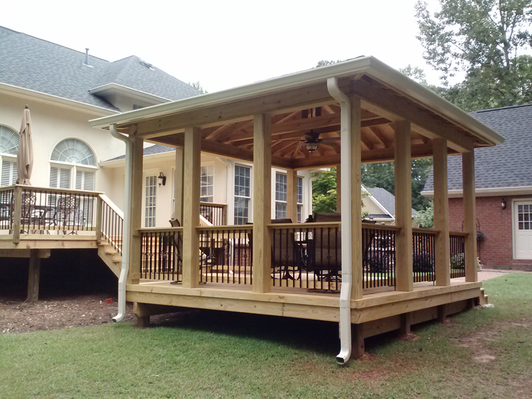 Gazebo Porch Attach To House Joy Studio Design Gallery