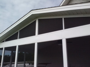 Warner Robins aluminum porch lr