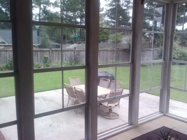 Going From Screen To Windows In Your Central Ga Porch