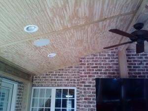 beadboard ceiling open porch Macon GA