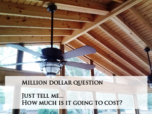 cost of a Macon Warner Robins outdoor space