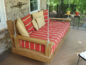 sleeping porch swing-macon GA 750