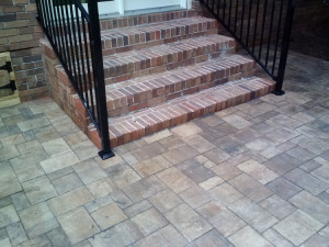 Gray GA new paver patio Belgard Weston