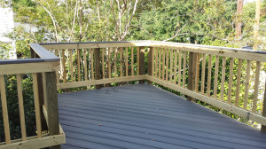 Composite deck historic home in Macon GA lr