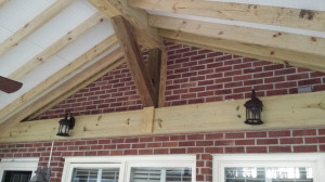 Archadeck screen porch beam-macon ga