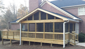 Archadeck screened porch Macon GA