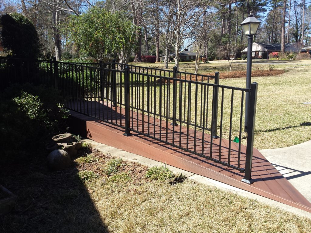 ramp-Fiberon-fortress iron-Macon GA