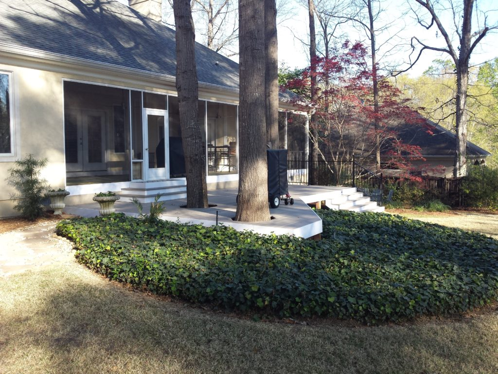 Completed redecking project in Warner Robins, GA.