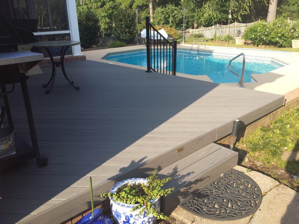 Deck-composite-TimberTech-Macon GA