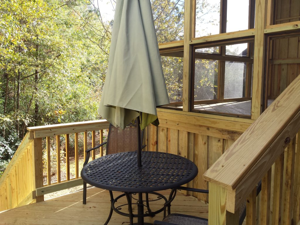 Wellington Screened Porch and Deck Combination